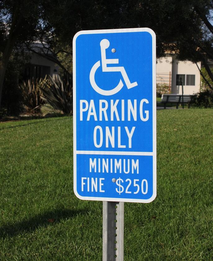 Handicap Signs In North County San Diego Ca North Coast