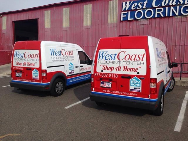 Transit Wrap Twins for West Coast Flooring
