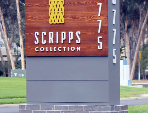 San Diego, CA – Monument Signs for Scripps Collection
