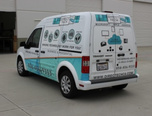 Vehicle Graphics For DirectTech San Diego