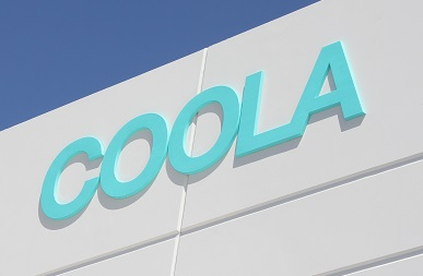 Formed Plastic Letters for COOLA