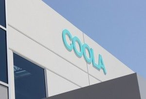 Exterior Building Sign for COOLA
